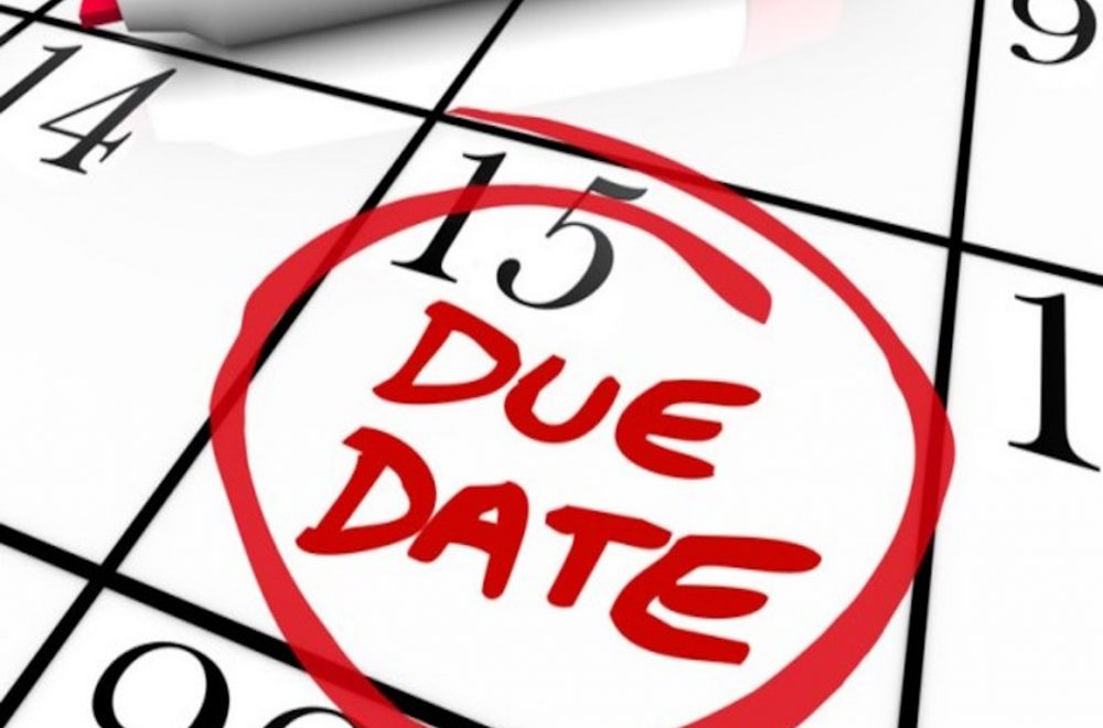 Due Date For Payments Under Security of Payment Act