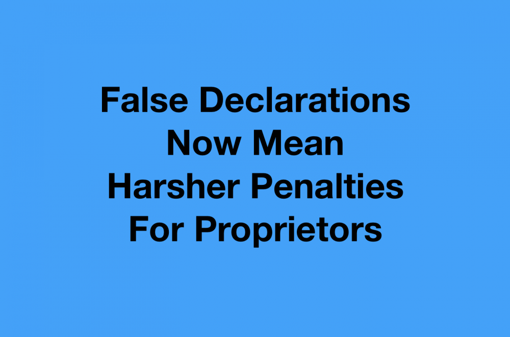 Harsher Penalties for False Declarations under Security of Payment Act NSW